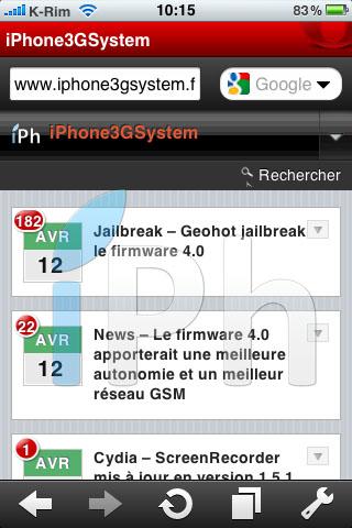 23 AppStore   Opera Mini iPhone : Enfin disponible sur lAppStore [Vidéo]