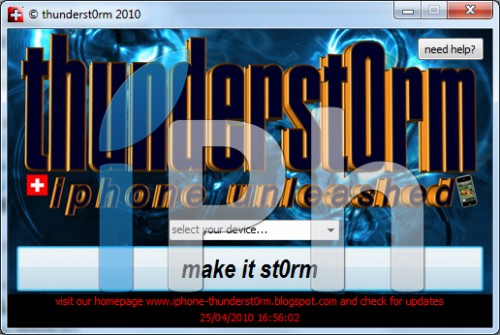 27 500x335 Jailbreak News   Thunderst0rm : Outil de Jailbreak 3.1.3 new iBoot disponible [EDIT]
