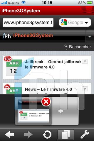 32 AppStore   Opera Mini iPhone : Enfin disponible sur lAppStore [Vidéo]