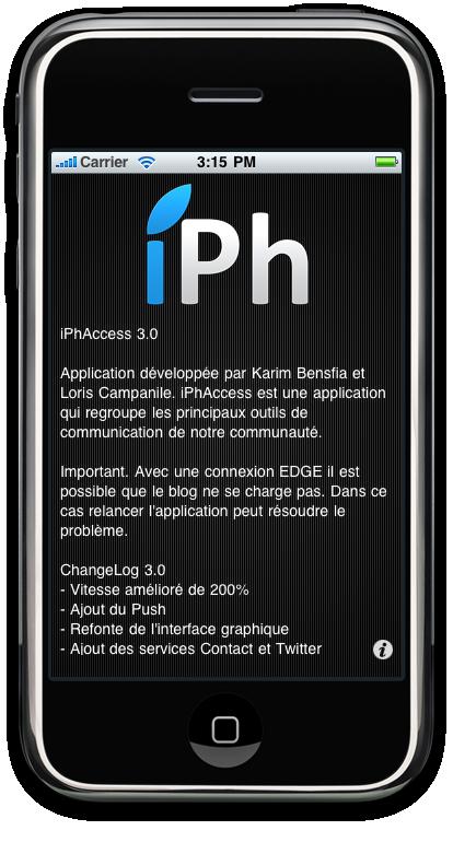 32 AppStore   iPhAccess 3.0 bientôt disponible [Preview Vidéo]