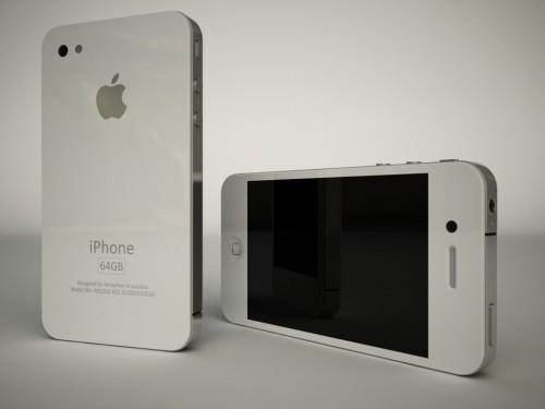 4g4 Concept   iPhone 4G en 3D par Seraphan