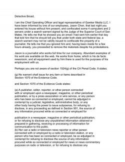500x gawker legal response1 01 250x323 News   La police a saisit des ordinateurs et des serveurs appartenant à Gizmodo