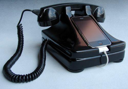 500x iretrofone News   iRetrofone Base : dock pour transporter votre iPhone dans la technologie du siècle dernier
