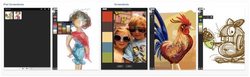 Capture 500x154 AppStore   Adobe® Ideas 1.0 pour liPad
