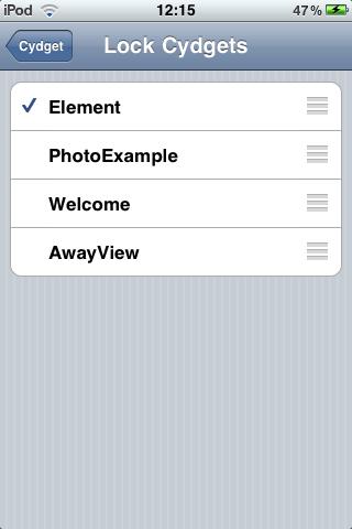 IMG 0026 Cydia   Element : Personnalisez votre LockScreen