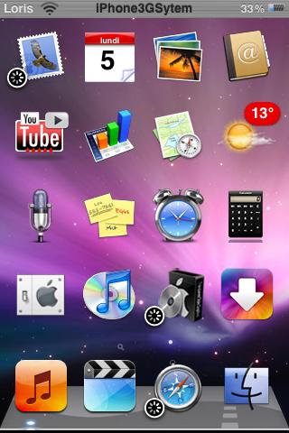 IMG 00281 Thèmes   Thème Mac OSX : MacStyle