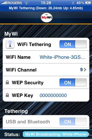 IMG 0036 Cydia   MyWi : Utilisez votre iPhone comme hotspot wi fi