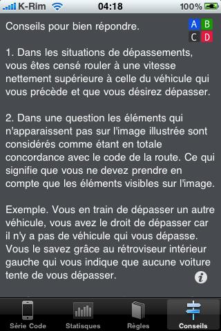 IMG 0929 AppStore   Télécommande Code : Familiarisez vous à la télécommande pour votre passage à lexamen du code de la route