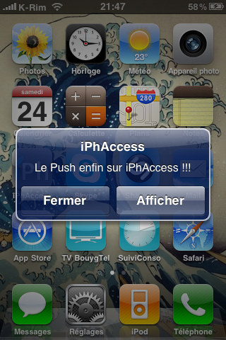 IMG 09501 AppStore   iPhAccess v2.2 : Supporte le Push