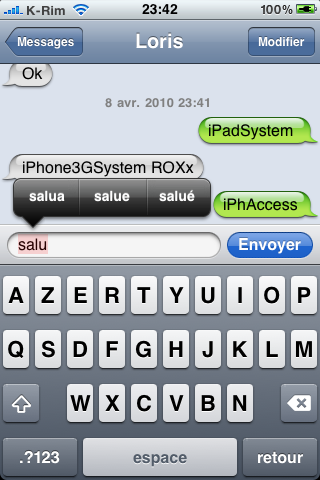 IMG 0951 Firmware 4.0   Présentation du nouvel iPhone OS 4.0 bêta