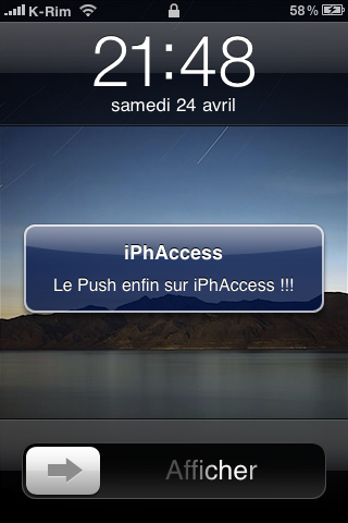 IMG 09511 AppStore   iPhAccess v2.2 : Supporte le Push