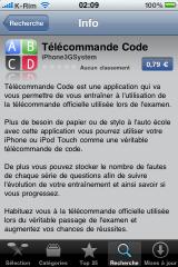 IMG 0952 160x240 AppStore   Télécommande Code : Familiarisez vous à la télécommande pour votre passage à lexamen du code de la route