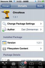 IMG 8019 160x2401 Cydia   Mise à jour de Circuitous en version 1.5.1