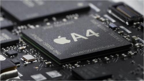 La puce de liPad Apple A4 500x283 Rumeur   Apple est sur le point dacquérir larchitecture ARM