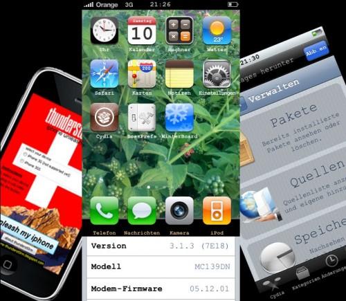 TS 500x435 Jailbreak News   Thunderst0rm : Un nouveau Jailbreak 3.1.3 untethered pour tous les iPhone et iPod Touch