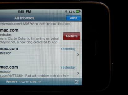archiavgemails Firmware 4.0   Ajout de la fonction Archivage pour Gmail