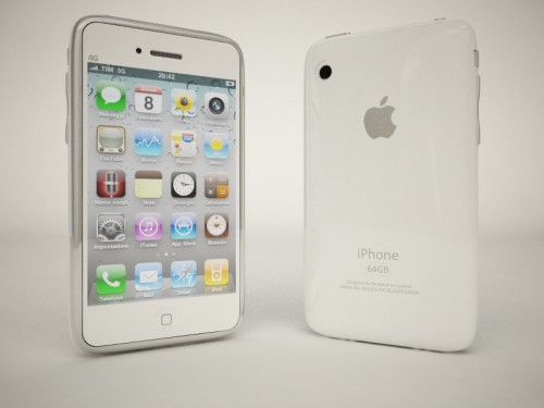 con2 Concept   iPhone 4G inspiré par le prototype de Apple