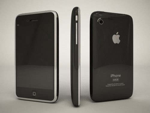 con3 Concept   iPhone 4G inspiré par le prototype de Apple