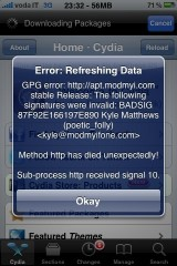 cydia1 Cydia   Attention : Problème avec la repo ModMyI