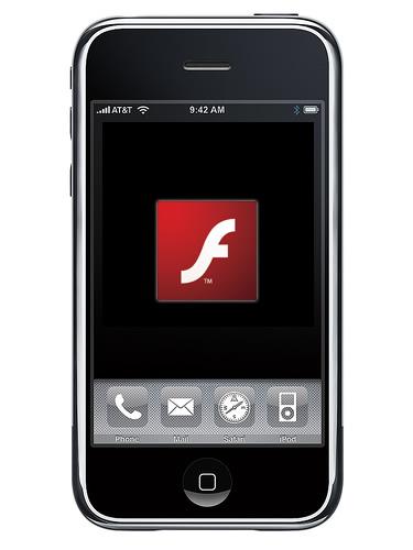 flash player iphone News   Adobe vs Apple, la saga FLASH CS5 continue