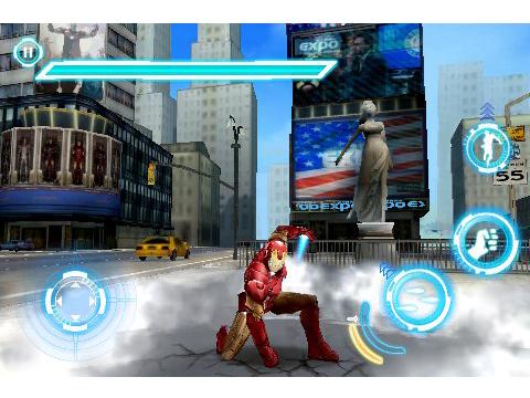 ironman2 Jeux   Gameloft nous donne un avant goût de Iron man 2 sur iPhone