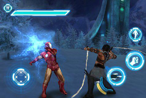 ironman2 screen1 1 Jeux   Gameloft nous donne un avant goût de Iron man 2 sur iPhone