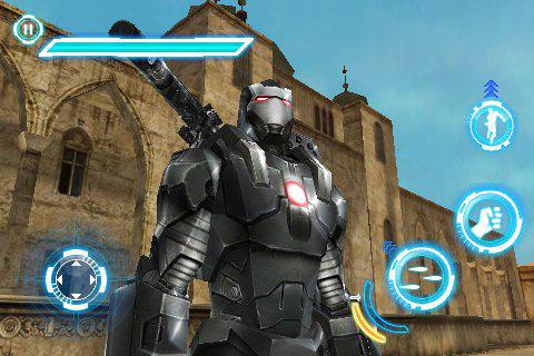 ironman2 screen2 Jeux   Gameloft nous donne un avant goût de Iron man 2 sur iPhone