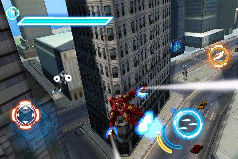 ironman2 screen3 Jeux   Gameloft nous donne un avant goût de Iron man 2 sur iPhone