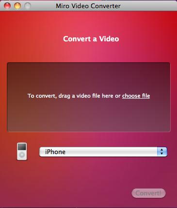 miro News   Miro Video Converter : Convertir vos vidéos au format iPhone / iPod Touch [MAC et Windows]