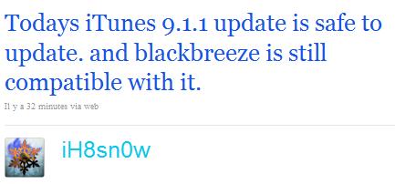 twitih8snow News   iTunes 9.1.1 disponible en téléchargement [MAJ]