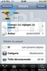 12 160x240 Cydia   Tab + : Afficher un nombre illimité de pages web sur Safari Mobile