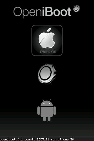 196595 ss menu original Tutoriel   iDroid : Installer Android sur iPhone 3G