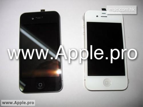 24 500x375 Rumeurs   liPhone 4G aura une façade blanche ou noire