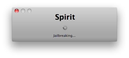3 Tutoriel   Jailbreak 3.1.3 avec Spirit de Comex pour iPhone / iPod Touch / iPad [MAC]