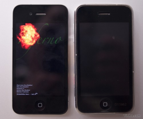 31 Test   Comparatif  : iPhone 4G Prototype vs iPhone 3GS