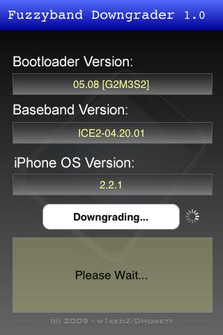3gfuzzyband3 Jailbreak  Fuzzyband : Downgradez votre baseband
