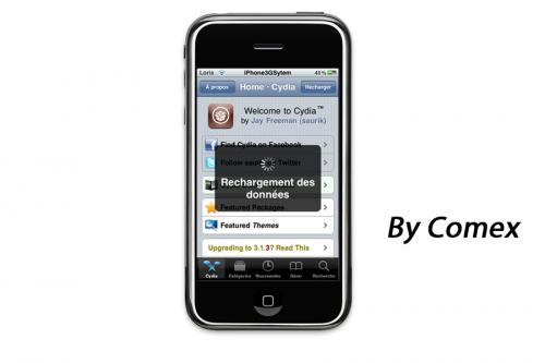 Tutoriel Jailbreak 3.1.3 avec Spirit de Comex pour iPhone