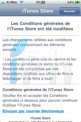 IMG 0943 160x240 AppStore   Mise à jour des conditions dutilisation diTunes