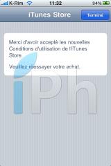 IMG 0945 160x240 AppStore   Mise à jour des conditions dutilisation diTunes