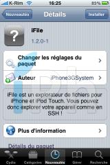 IMG 0972 160x240 Cydia   iFile 1.2.1 1 : Nouvelle mise à jour disponible