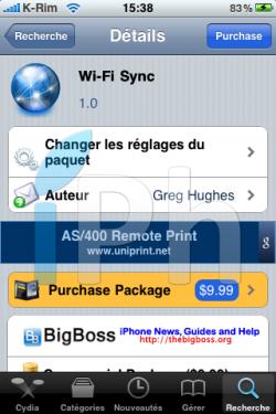 IMG 0984 250x375 Cydia   Wi Fi Sync : Synchroniser votre iPhone à iTunes par Wi Fi