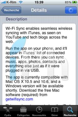 IMG 0986 250x375 Cydia   Wi Fi Sync : Synchroniser votre iPhone à iTunes par Wi Fi