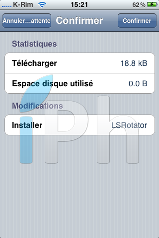 IMG 10241 Cydia   LockScreen Rotator enfin disponible en bêta [EDIT]