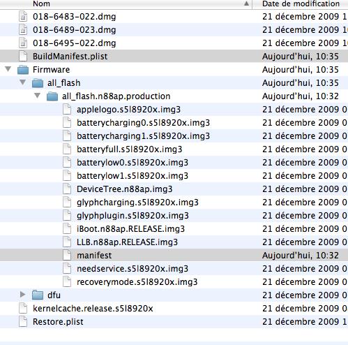 MODIFS 3.1.3 Tutoriel   Comment mettre à jour son iPhone en 3.1.3 sans upgrade le baseband [Mac]