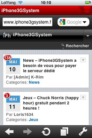 Opéra mini blog iPh AppStore   Opéra mini est mis à jour pour iPhone et iPod Touch