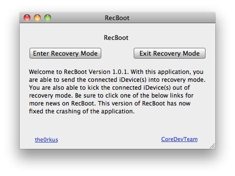 Schermata 2010 05 25 a 17.34.01 News   RecBoot : Faites entrer votre appareil en mode Recovery en 1 seul clic !