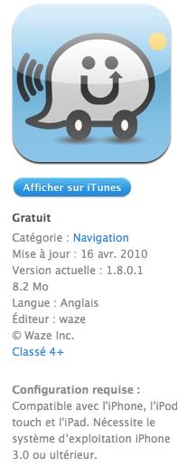 Waze3 AppStore   Waze : Du nouveau dans les Logiciels de Navigation Gratuits