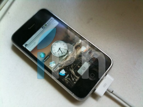 android News   iAndroid sur iPhone 3G, cest possible ! [vidéo]