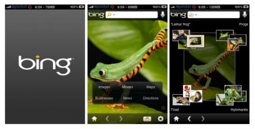 bing 500x253 Rumeurs   OS 4.0 : Bing comme moteur de recherche dans Safari Mobile ?