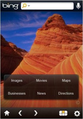 bing iphone Rumeurs   OS 4.0 : Bing comme moteur de recherche dans Safari Mobile ?